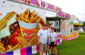 Concessions - food booths for festivals