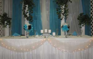 Bridal table